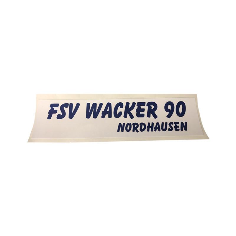 Wacker90 Aufkleber Balken