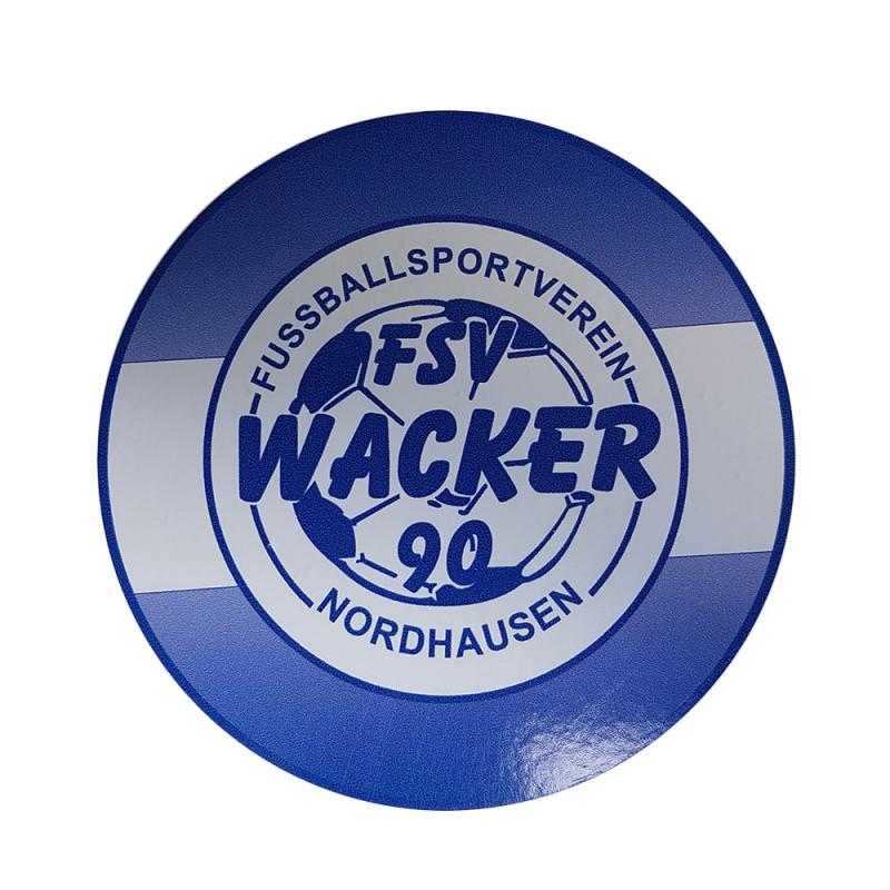 Wacker90 Aufkleber rund
