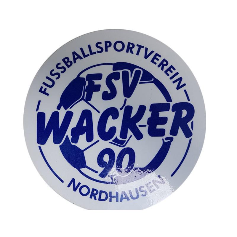 Wacker90 Aufkleber rund groß