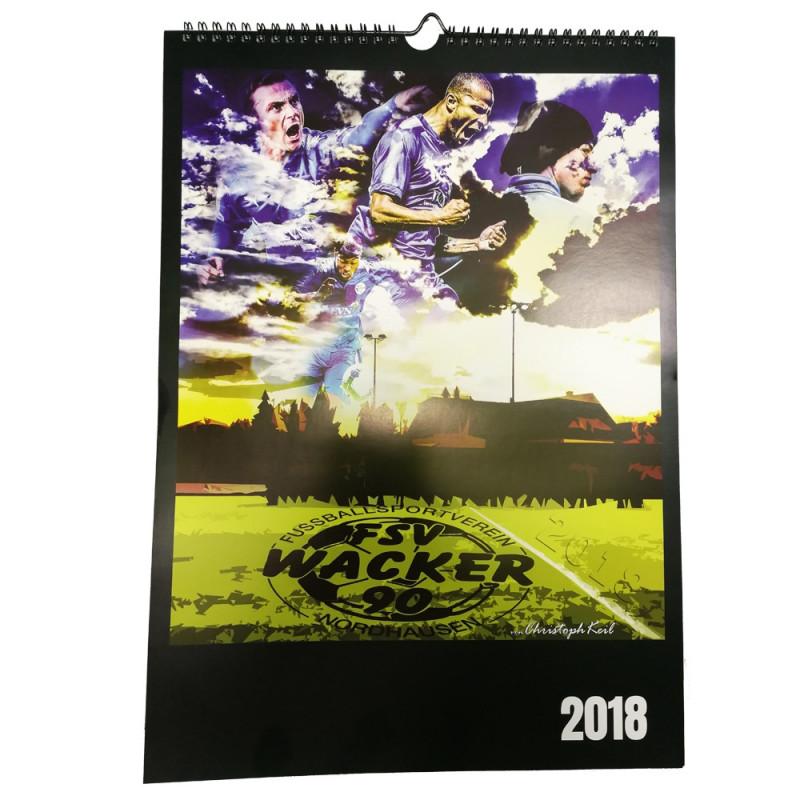 Wacker Wandkalender 2018