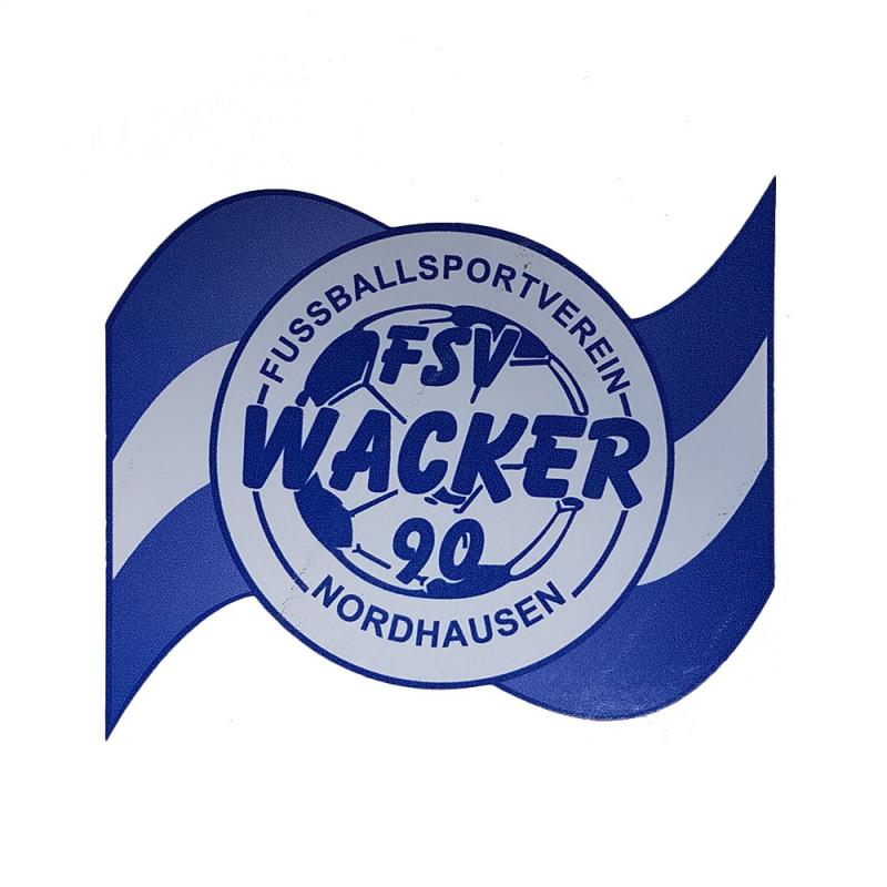 Wacker90 Aufkleber geschwungen