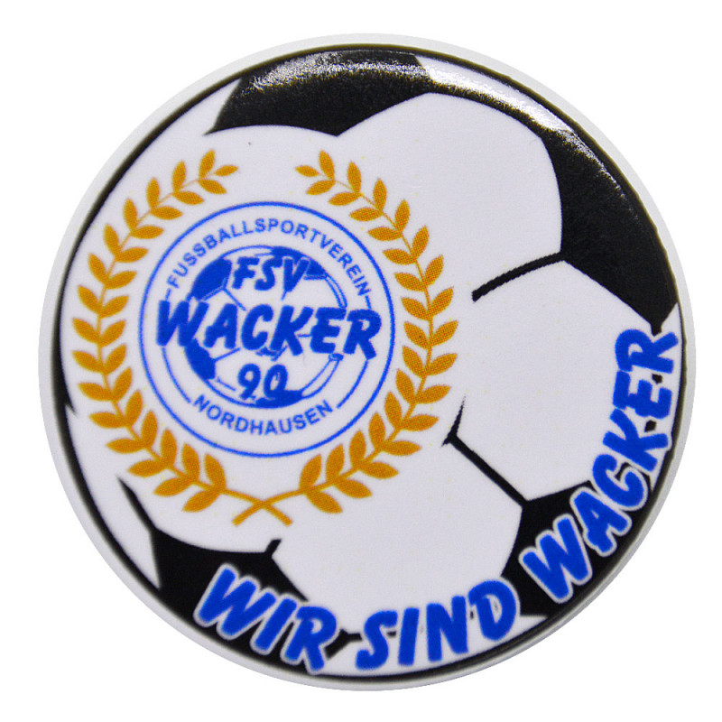 Button - Anstecker Wackerfussball